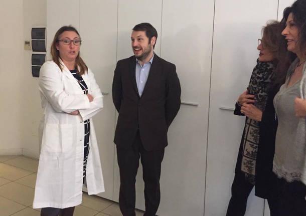 visite in azienda professoressa Francesca Rovera e Adele Patrini