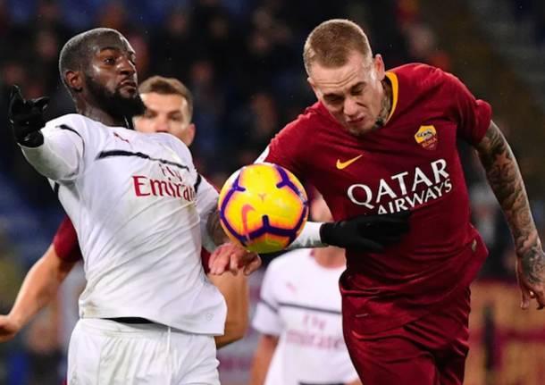 calcio roma milan serie a
