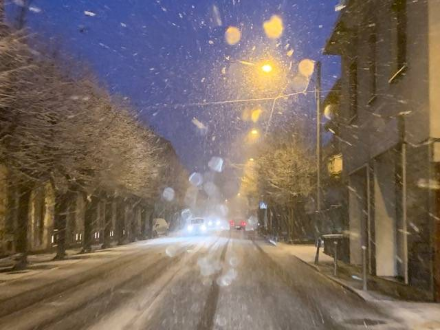 La neve in Valcuvia