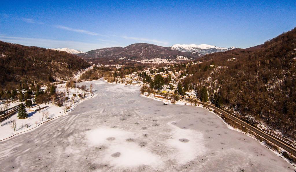 Neve e ghiaccio a Ghirla