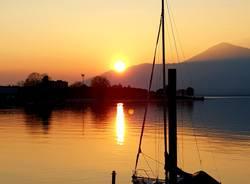 tramonto a Luino