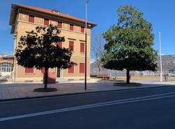 Palazzo Verbania ieri e oggi