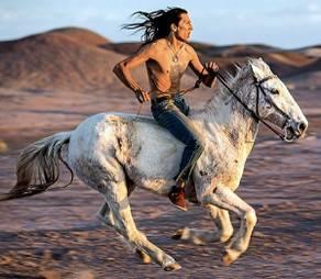 Indiani e cowboy al museo di Cavona