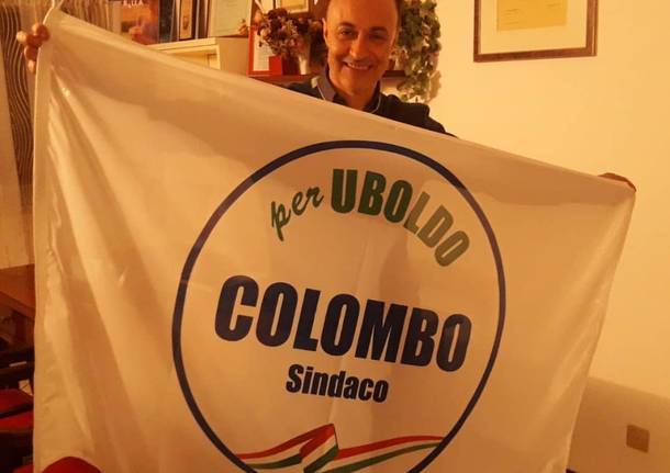 Per Uboldo in piazza con il candidato Alessandro Colombo