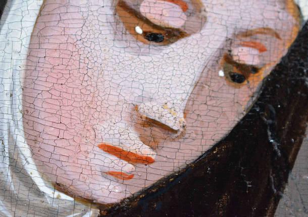 Castiglione Olona: il restauro della Sacra Famiglia