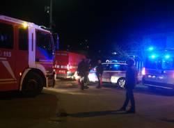 Cavaria: salvato un uomo caduto nel fiume