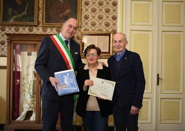 coppia varesina premiata ad alassio - Foto di SavonaNews.it