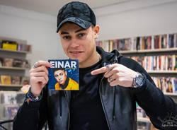 Einar incontra i fan a Varese Dischi
