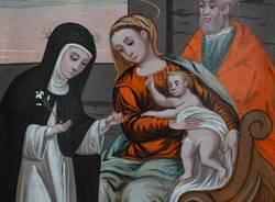 Il restauro della Sacra Famiglia