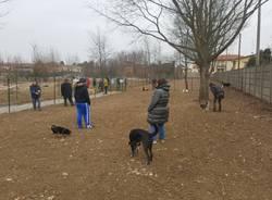 Inaugurata nuova area cani di Samarate