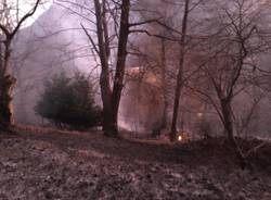 incendio boschivo vararo