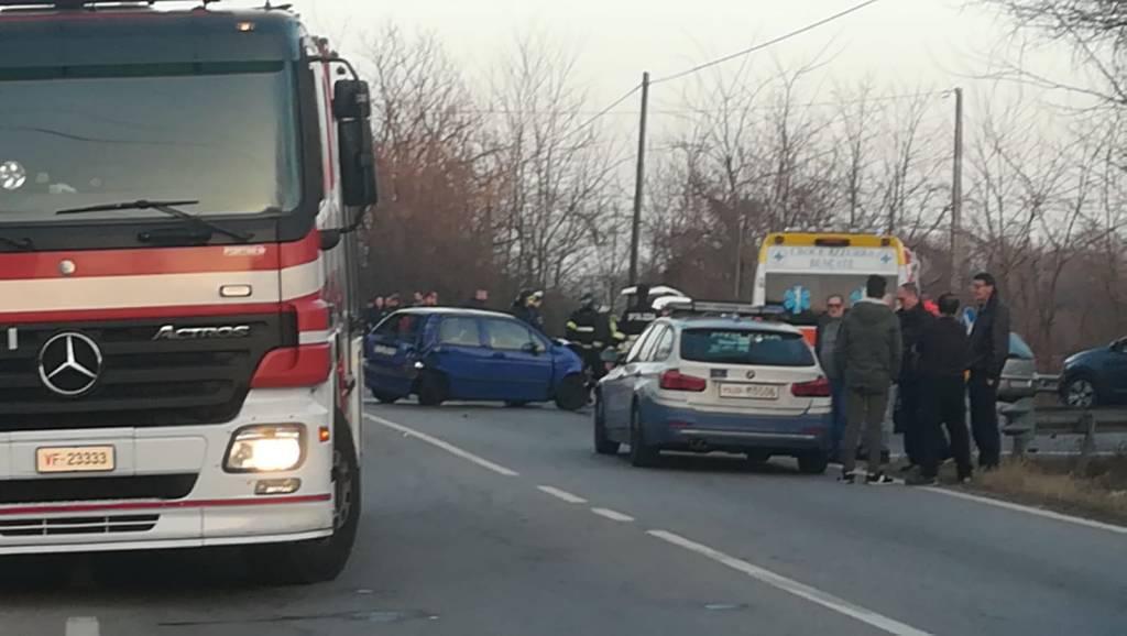 incidente auto camion rescaldina