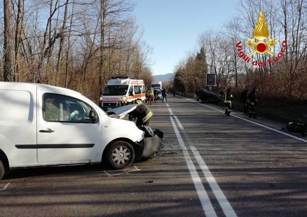 incidente stradale stradone Gaggiolo