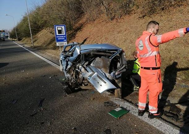 Incidente mortale sulla 336