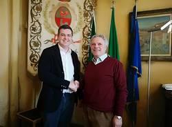 incontro tra il sindaco cassani e il direttore dell'asst valle olona porfido
