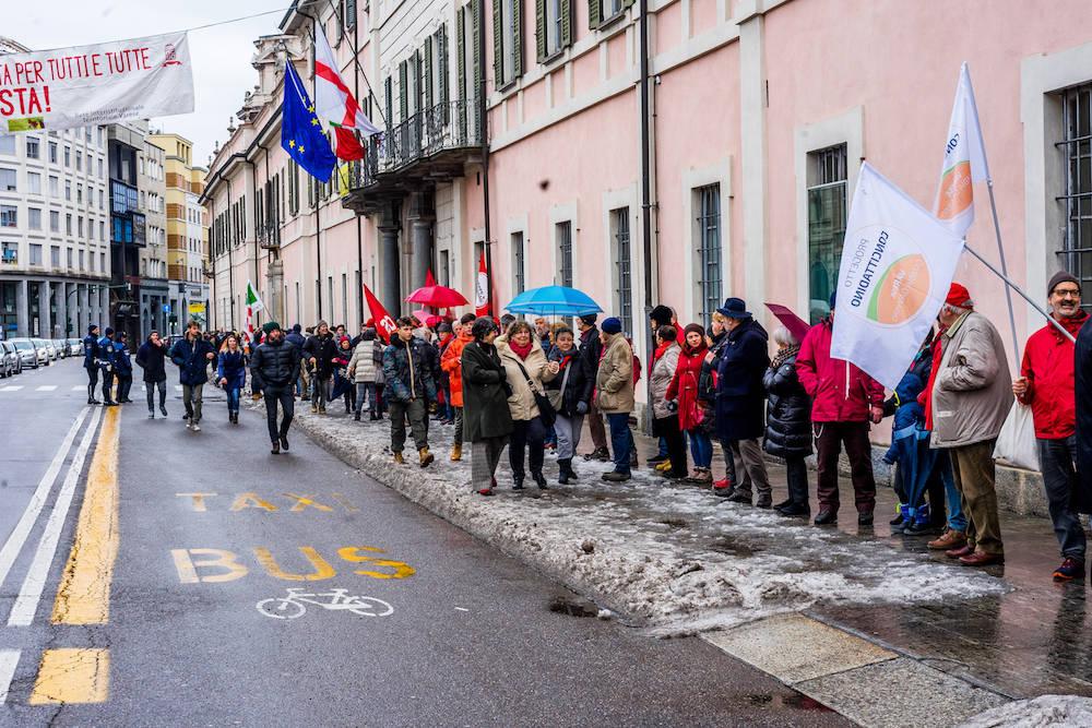 """L'Italia che resiste"", Varese, 2 febbraio"