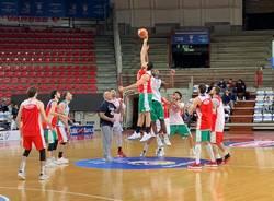 La Nazionale di basket si allena a Masnago