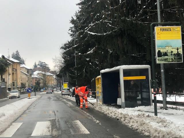 La neve del primo febbraio 2019