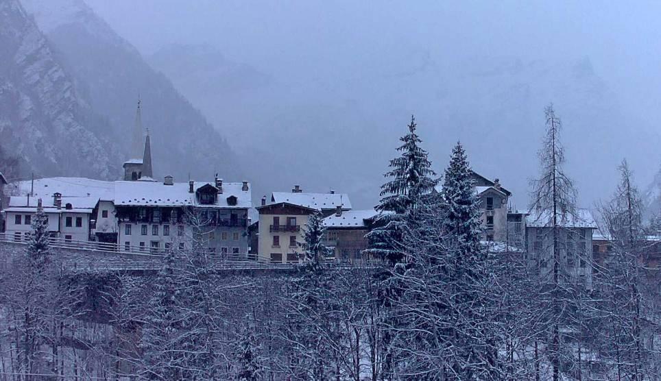 La neve in montagna