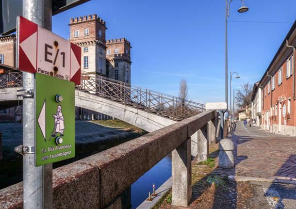 La via Francisca da Lavena Ponte Tresa a Pavia
