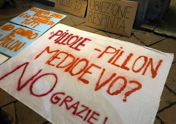 In piazza contro il decreto Pillon
