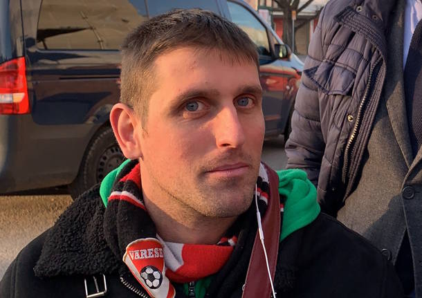 Mirko in carrozzina a Varese