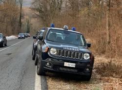 operazione spaccio nei boschi carabinieri castello cabiaglio