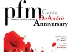 PFM canta De Andrè