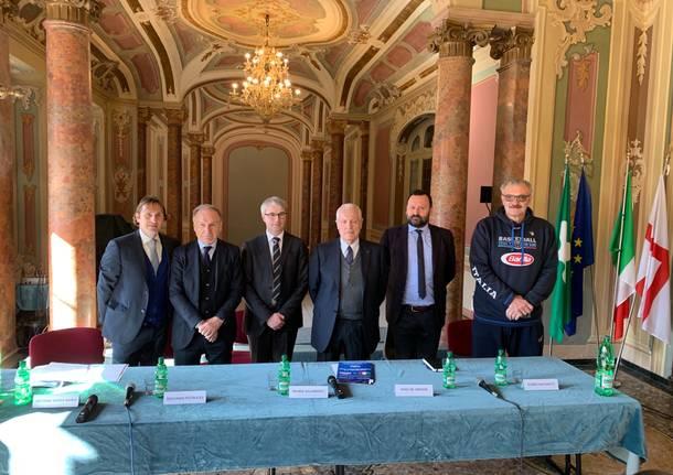 Presentazione basket italia ungheria 2019