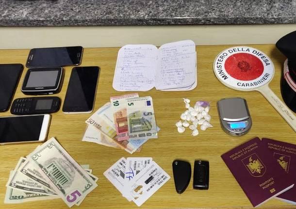spaccio droga carabinieri cassano magnago