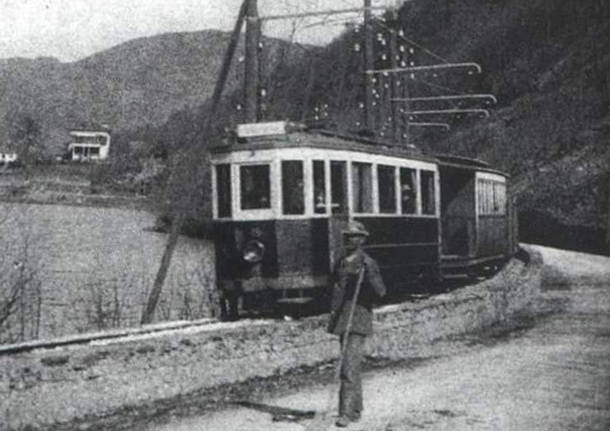 Tram Valganna - foto d'epoca