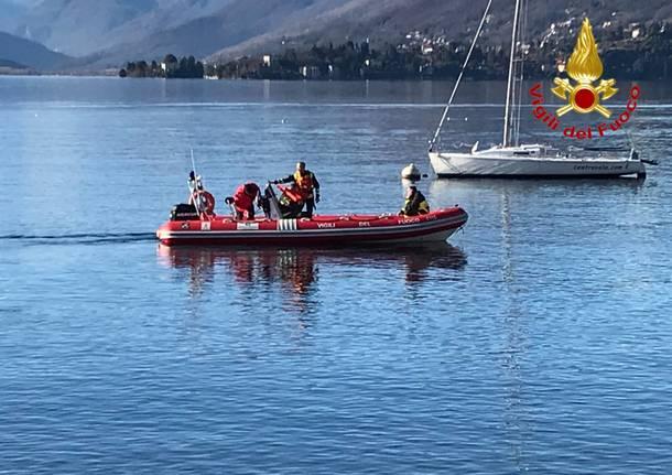 Uomo scomparso nel Lago Maggiore