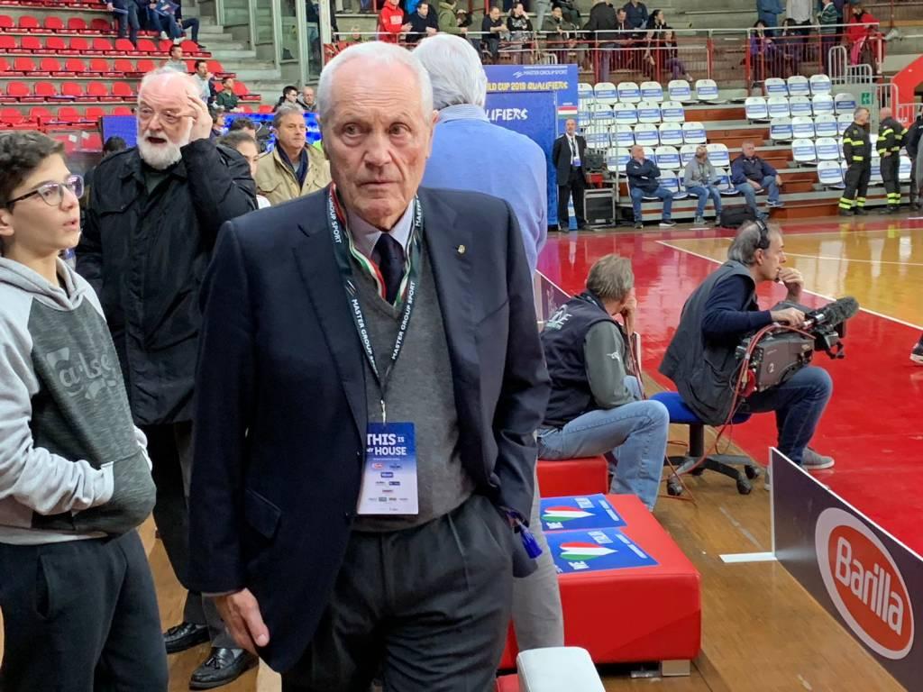 Vecchie e nuove glorie al palasport per Italia Ungheria