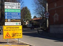 Vedano Olona - Muro via Baracca sp 46