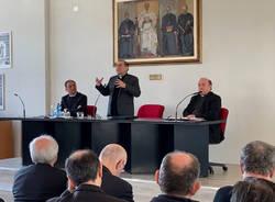 Venegono Inferiore - Monsignor Delpini al Seminario