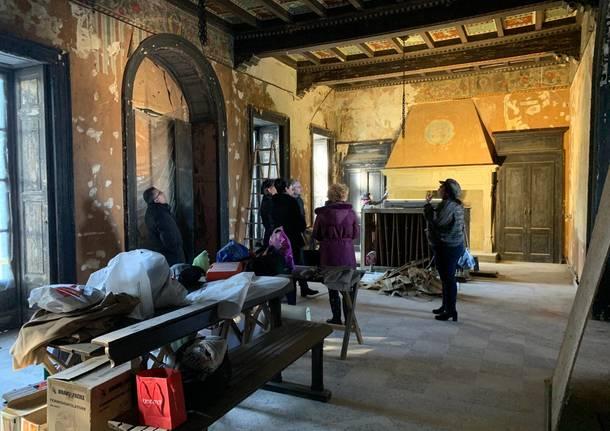 villa gonzaga olgiate olona restauro 2019