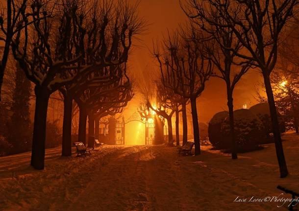 Metti una notte a Villa Toeplitz sotto la neve