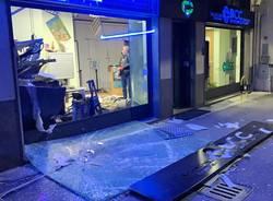 Bancomat esploso a Gallarate