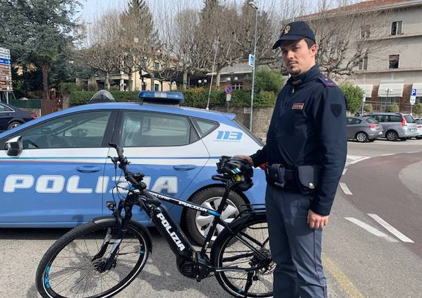 Biciclette per la polizia di Stato