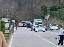 Brusimpiano - Incidente mortale sulla Sp61