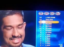 campione tv puntata chi vuole essere milionario