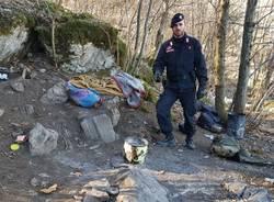 Il blitz nei boschi della droga, Nasca e Biviglione