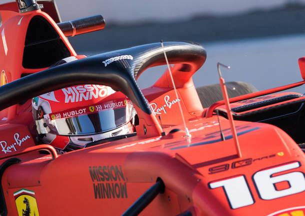I nuovi bolidi di Formula Uno sul circuito di Barcellona
