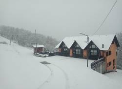 Neve di marzo in Forcora