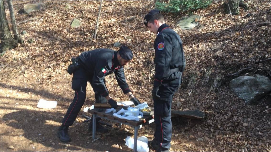 Altri tre arresti per droga nei boschi