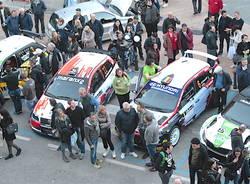 La partenza del 28° Rally dei Laghi