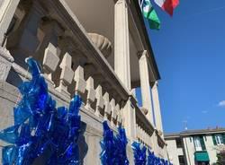Il palazzo comunale diventa installazione d\'arte