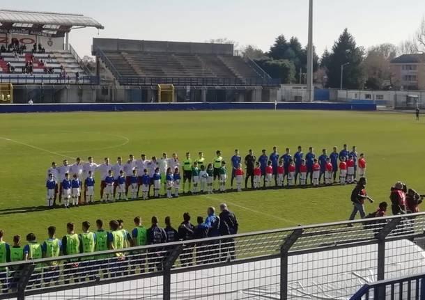 Under 20 a Busto Arsizio. Italia – Rep. Ceca 0-1