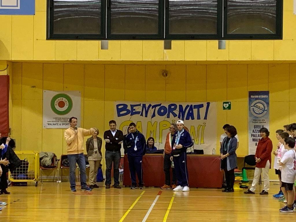 Varesotti d'argento a Special Olympics