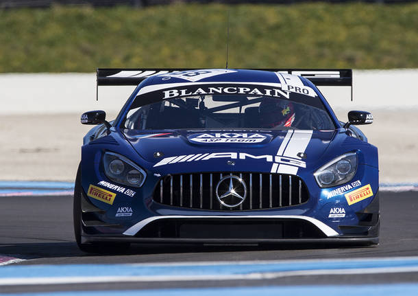 I test al Paul Ricard delle vetture delle Blancpain Series